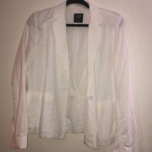 GAP Jackets & Coats - White Blazer